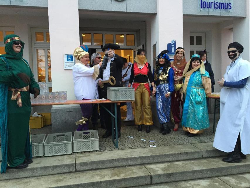 Rathausstürmung in Bodenmais