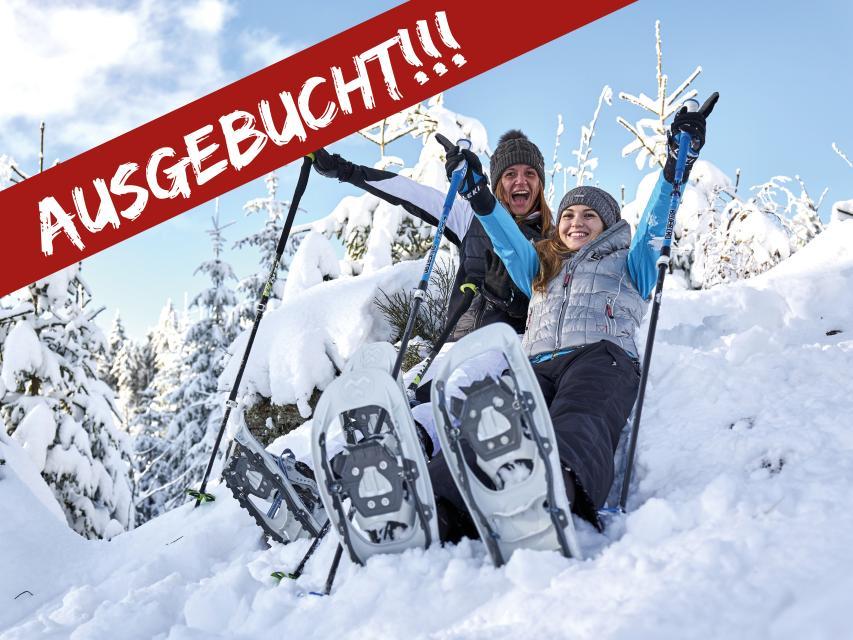 WINTERKNALLER: 3 Nächte mit Frühstück inklusive TUBBS Markenschneeschuhe - LEIDER AUSGEBUCHT!!!
