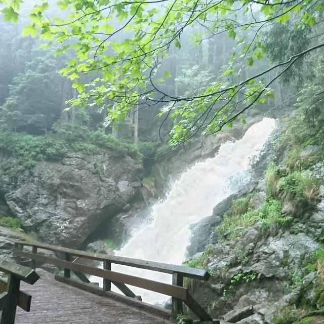Rißlochwasserfälle ab Schönebene