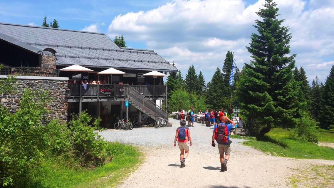 Schutzhaus Kleiner Arber / Chamer Hütte