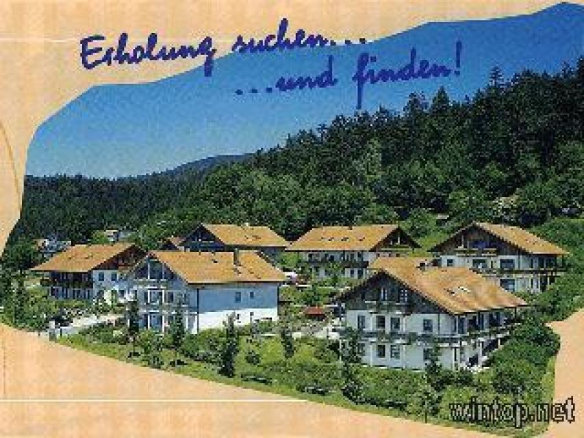 Ferienwohnungen Moosbach I