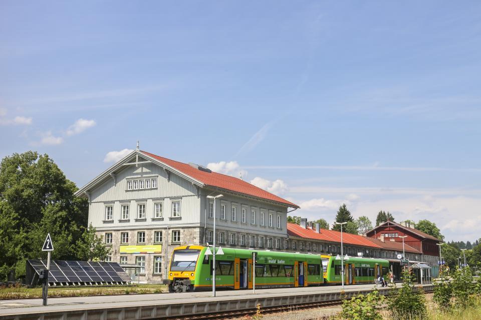 NaturparkWelten Grenzbahnhof