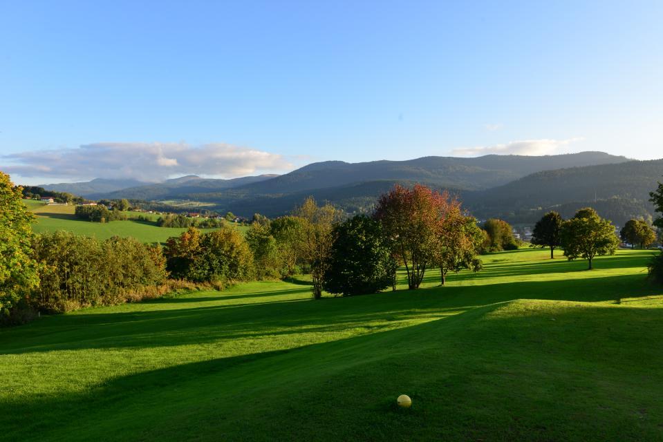Panorama-Golfplatz Lam