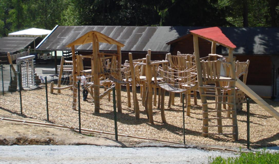 Kinder-Klettergarten