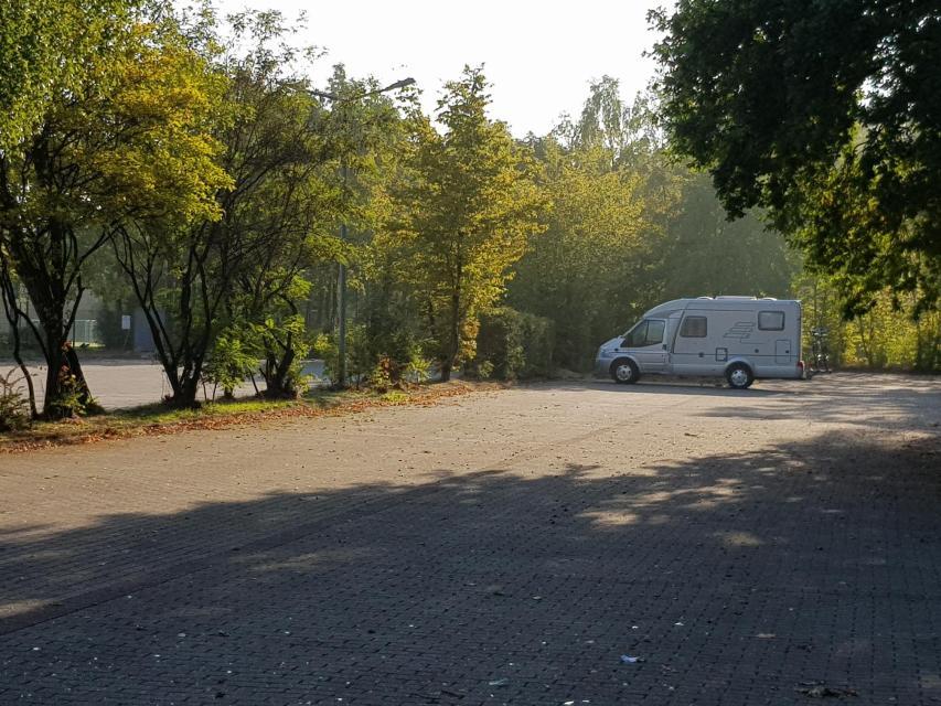 Parkplatz Osterwaldweg am Sportzentrum