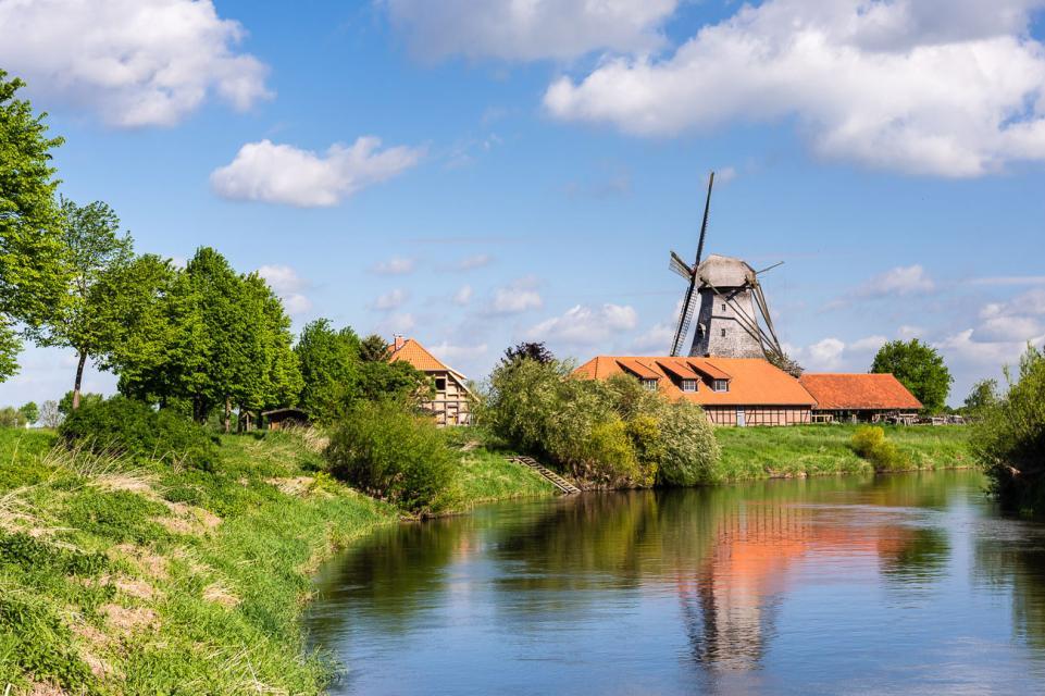 Bothmer Mühle – Holländerwindmühle