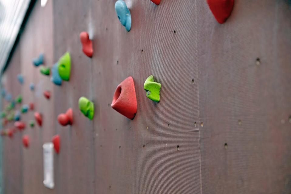 Boulderwand