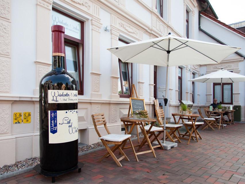 Weinkontor-Nordsee WeinCafé und Verkauf
