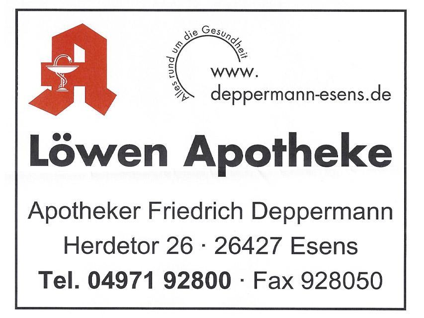 Löwen Apotheke Esens / Friedrich Deppermann e.K.