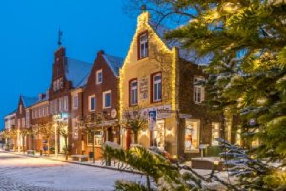 Weihnachtsverlosung in Esens ab 25. November 2019