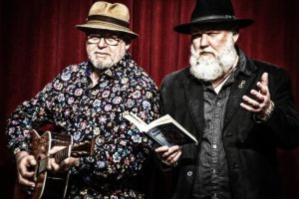 Musikalische Krimilesung mit Manfred C. Schmidt & Helmut Bengen