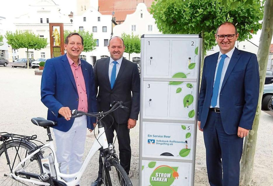 E-Bike-Ladestation Frontenhausen