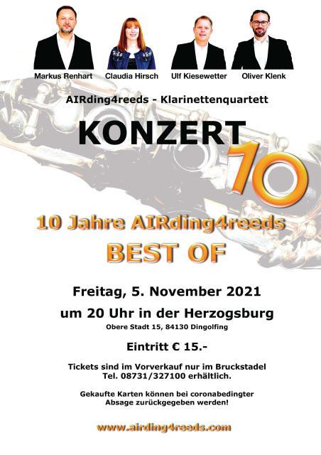 """""""10 Jahre AIRding4reeds – Best Of"""""""