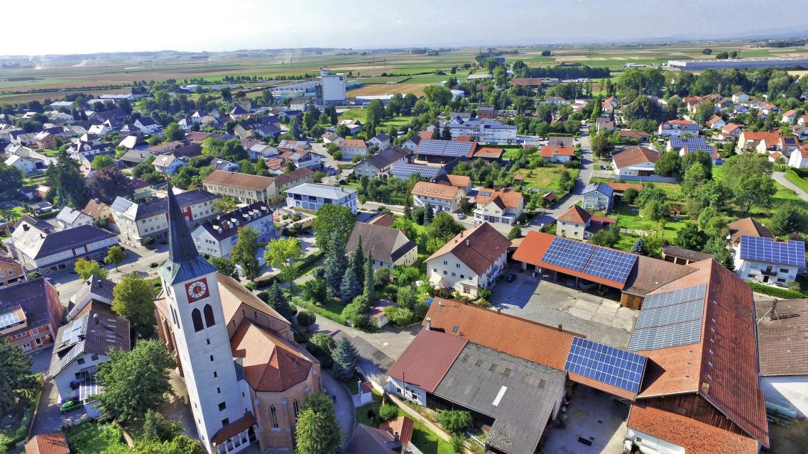 Luftbild Wallersdorf -