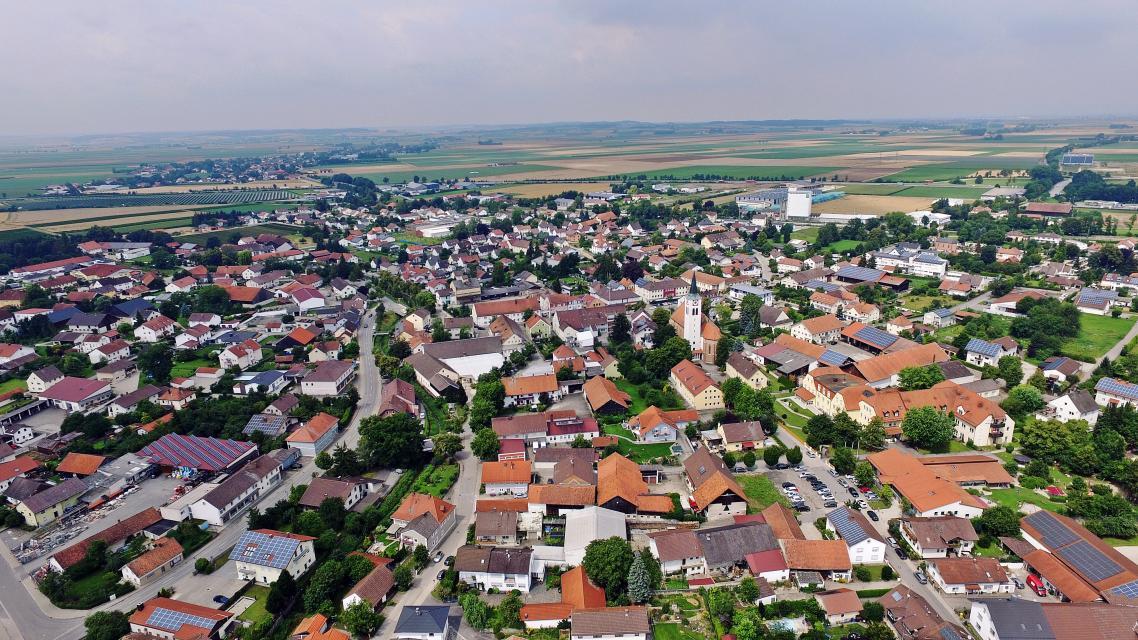 Stadtbild Wallersdorf -