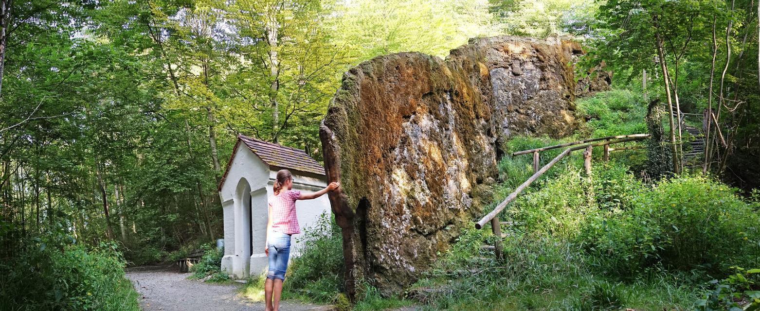 Wachsender Felsen von Usterling Landau -