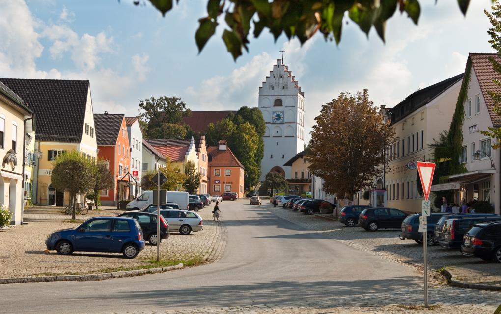 Reisbach Marktplatz -