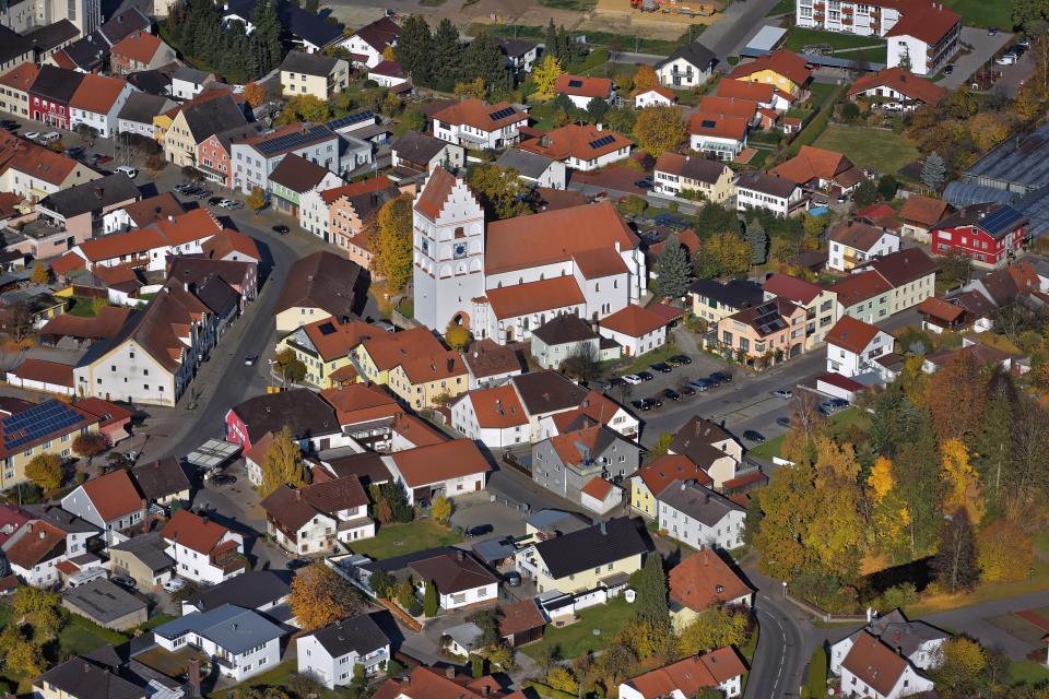 Reisbach Luftbild -
