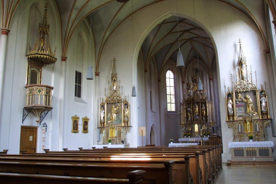 Klosteranlage St. Clara u. Geisslung Christi Kirche