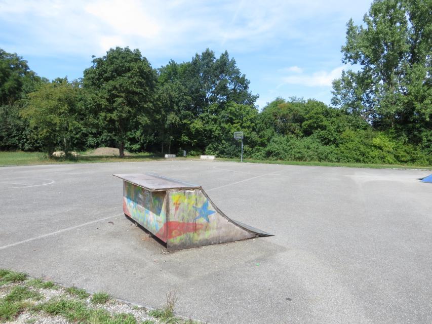 Skaterbahn Frontenhausen am Loitersdorfer Weg