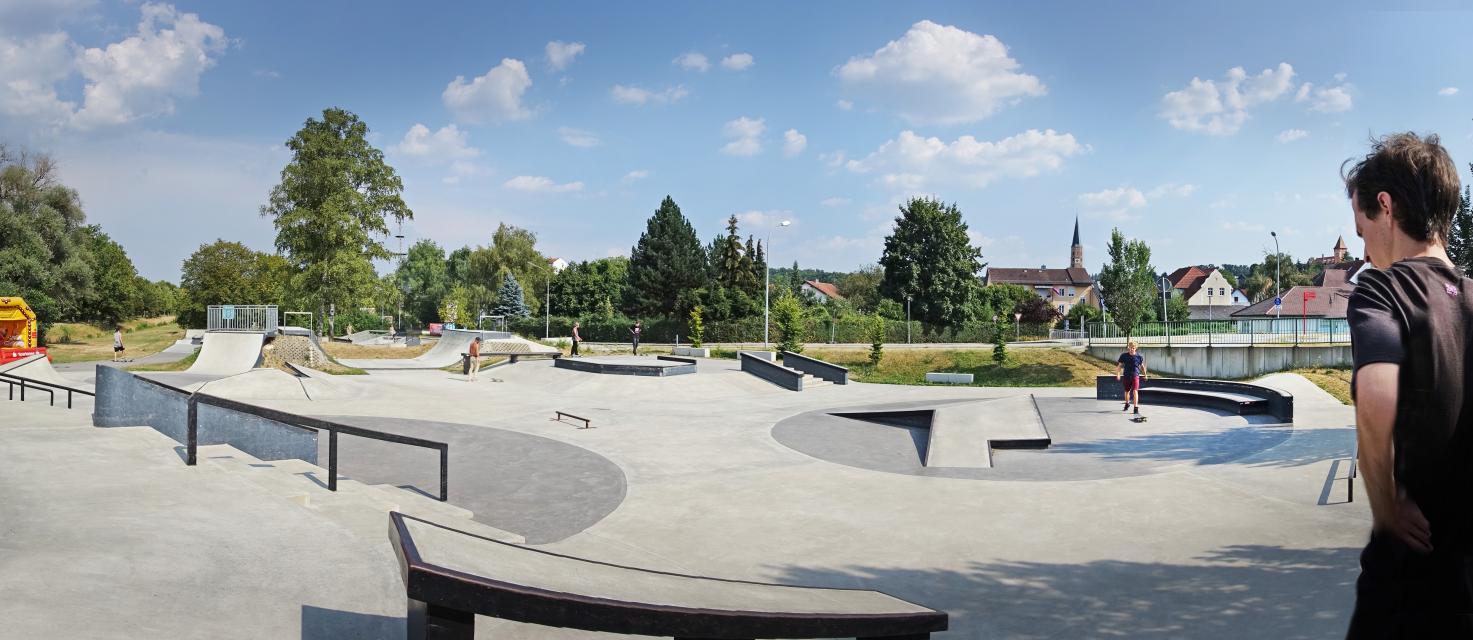Skaterbahn Dingolfing Auenweg