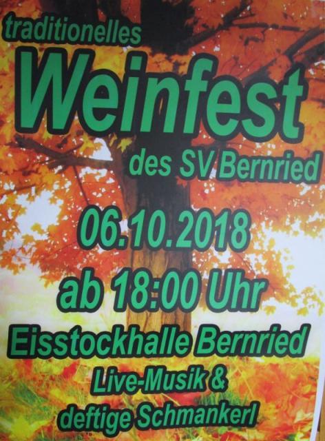 Weinfest in Bernried