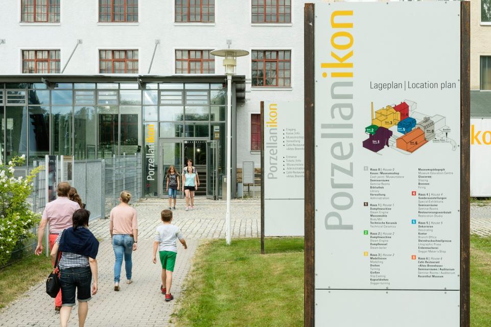 Porzellanikon - Staatliches Museum für Porzellan - Selb