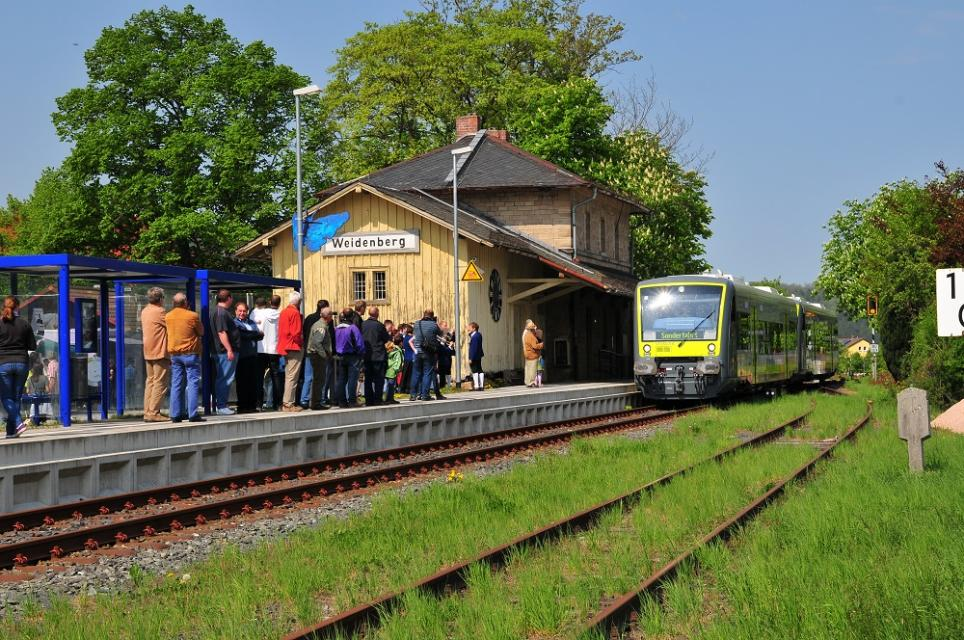 Bahnhof Weidenberg