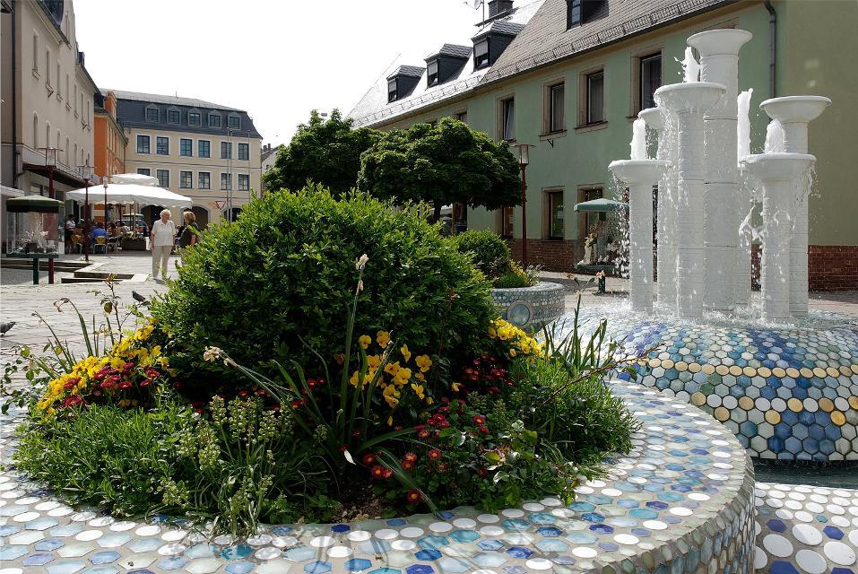 Porzellanbrunnen in Selb