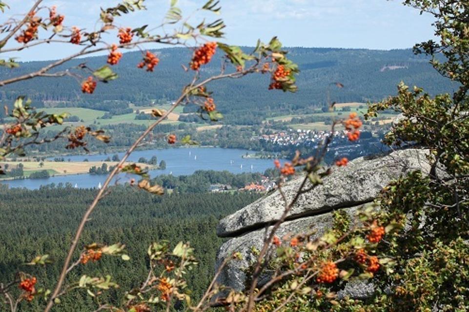 Blick vom Rudolfstein auf Weißenstadt