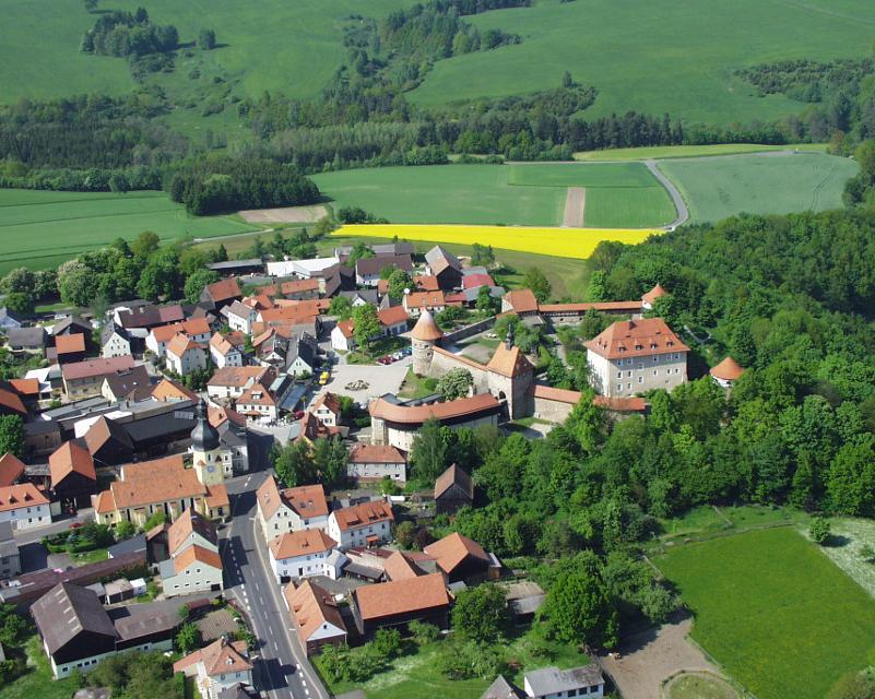 Hohenberg Luftaufnahme