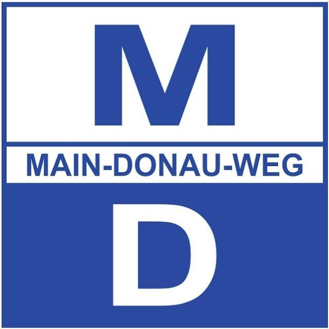 Wandersymbol Main-Donau-Weg