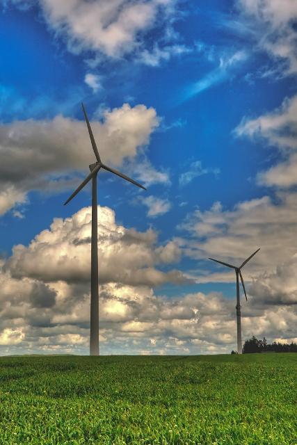 Windpark Nordbayern bei Stemmasgrün