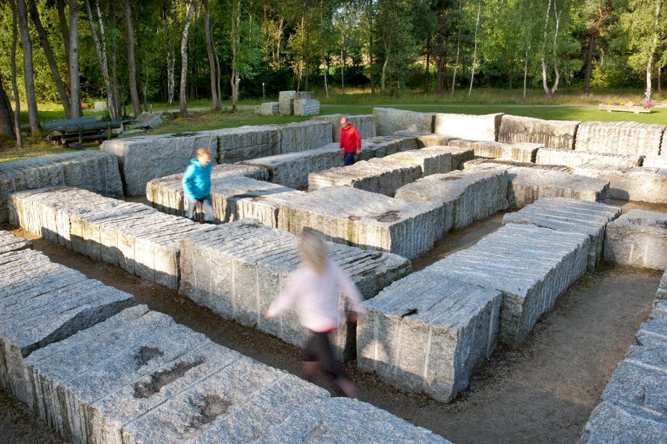 Granit-Labyrinth bei Kirchenlamitz