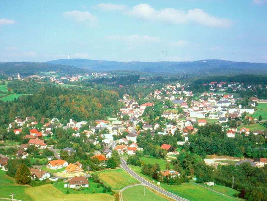 Ortsansicht Fichtelberg