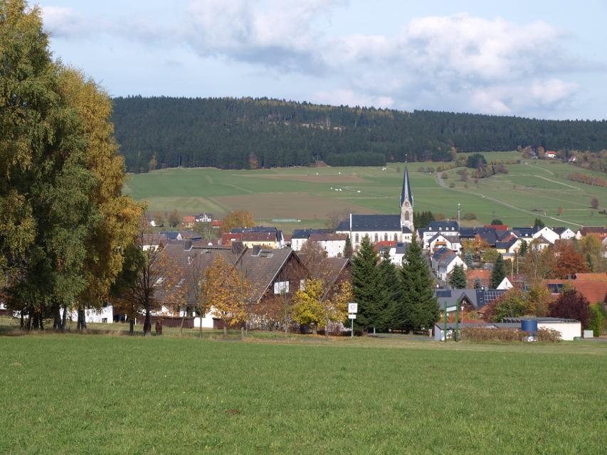 Bischofsgrün Ortsansicht