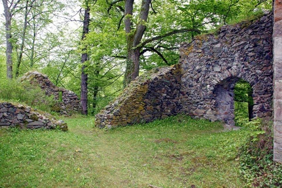 Burgruine Hohenberneck in Bad Berneck