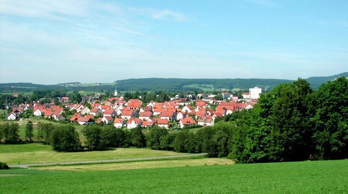 Stadtansicht Waldershof