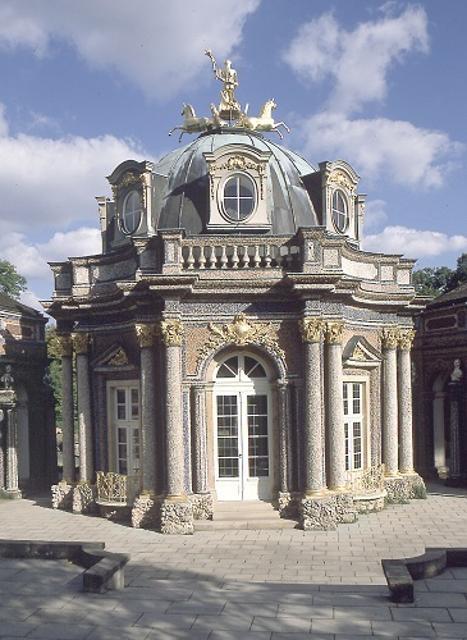 Bayreuth - Eremitage: Sonnentempel