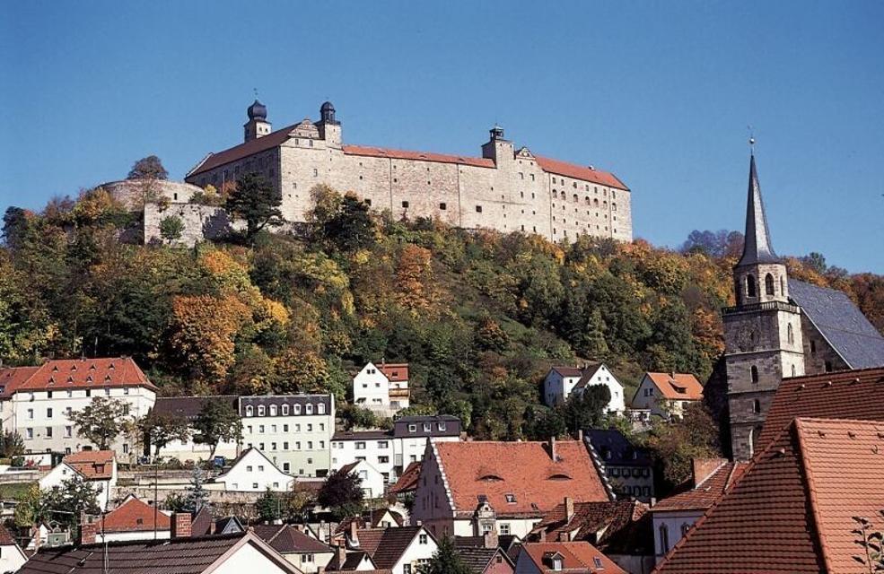 Kulmbacher Burg mit Altstadt