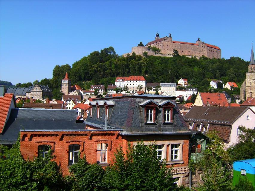 Plassenburg über Altstadt