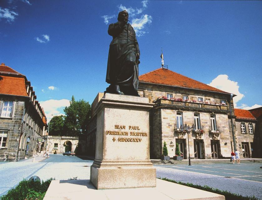 Jean-Paul-Platz in Bayreuth