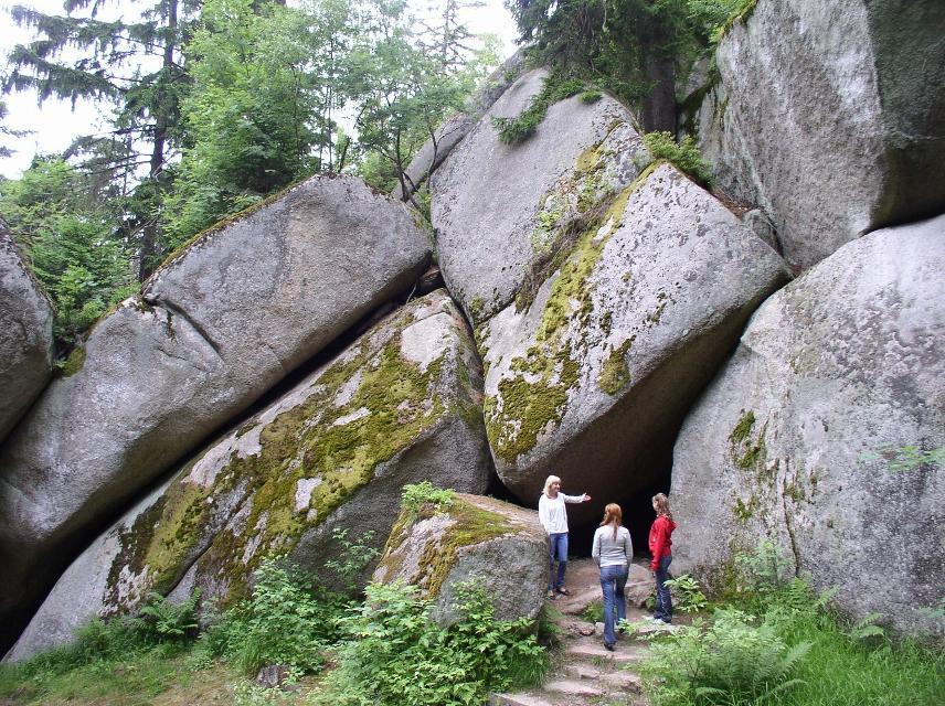 Felsenlabyrinth Luisenburg bei Wunsiedel