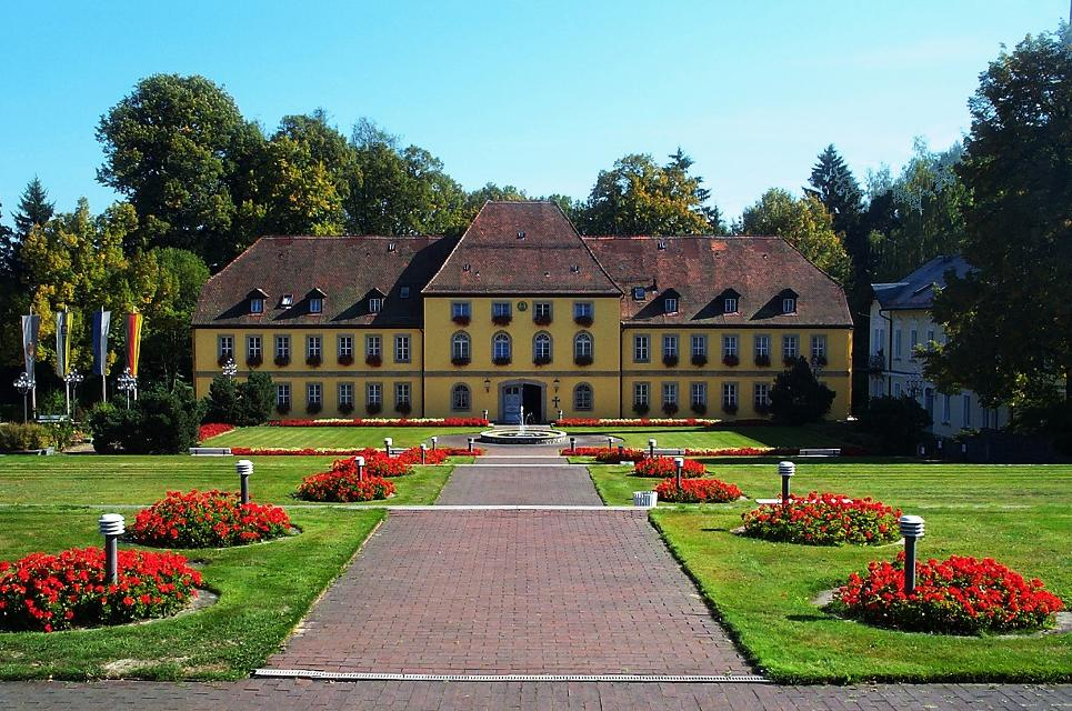 Markgräflisches Schloss in Bad Alexandersbad