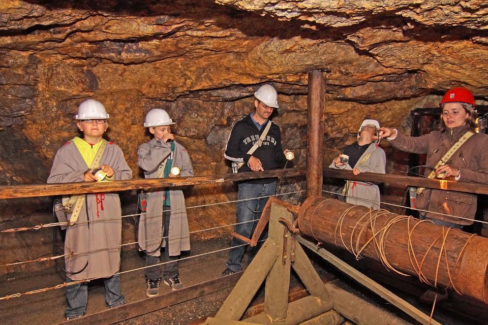 Silbereisen Bergwerk Gleißinger Fels in Fichtelberg Neubau