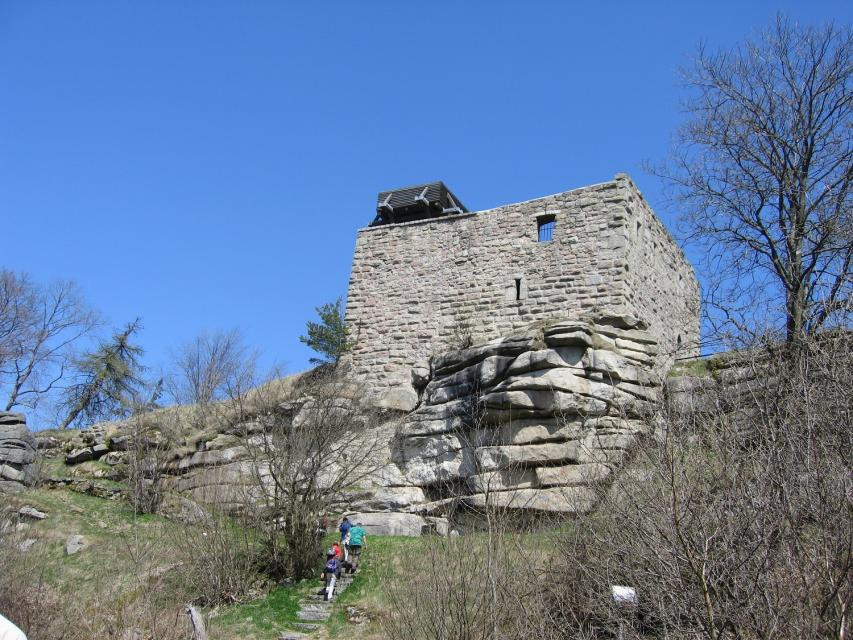Ruine Epprechtstein bei Kirchenlamitz