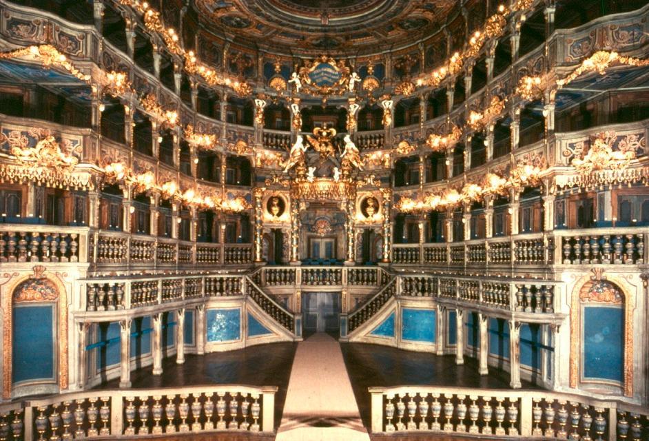 Weltkulturerbe Markgräfliches Opernhaus in Bayreuth
