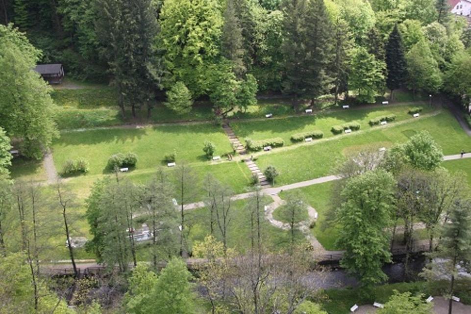 Kurpark von Bad Berneck