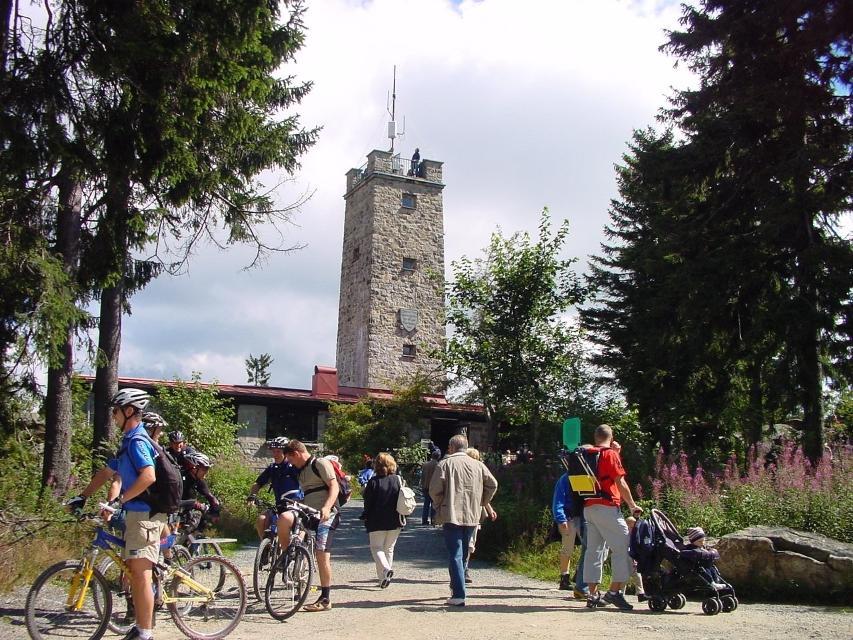 Aussichtsturm Asenturm auf dem Ochsenkopf