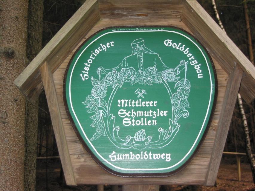 Mittlerer Schmutzler-Stollen bei Goldkronach